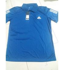 Áo thun lạnh hàng xuất xịn cho nam Adidas màu xanh