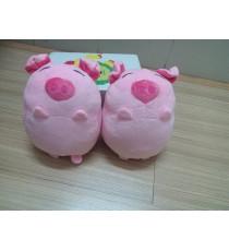 Cặp đôi heo hồng nhồi bông siêu cute