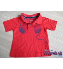 Áo thun bé trai màu đỏ 6-9tháng