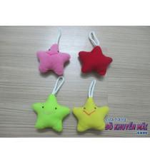 Set 4 ngôi sao treo nhồi bông