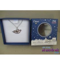 Dây chuyền bạc PNJ quà tặng từ Dove
