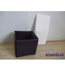 Hộp vuông nhỏ Ikea màu tím