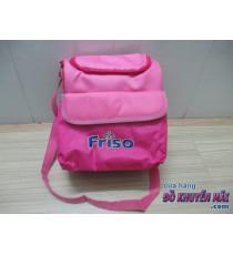 Túi đeo Friso cho bé màu hồng