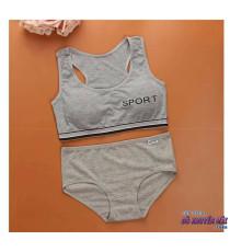 Bộ đồ lót thể thao cotton nữ