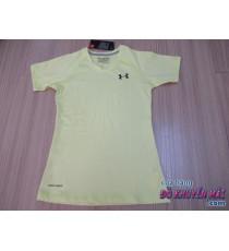 Áo thun thể thao nữ H màu vàng size S
