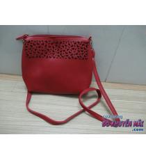 Túi đeo xinh xắn cho nữ Ponds màu đỏ