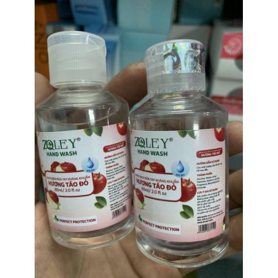 Nước rửa tay khô bỏ túi hương táo