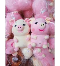 Cặp đôi lợn bông siêu đáng yêu