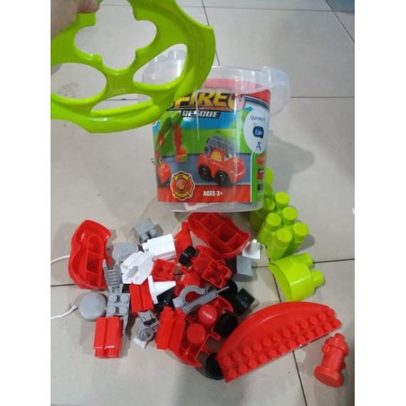 Bộ ráp xe cứu hộ quà từ Enfa